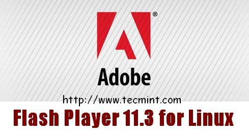 Install Adobe Flash Player in Linux