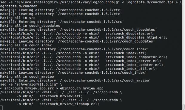 Build Apache CouchDB
