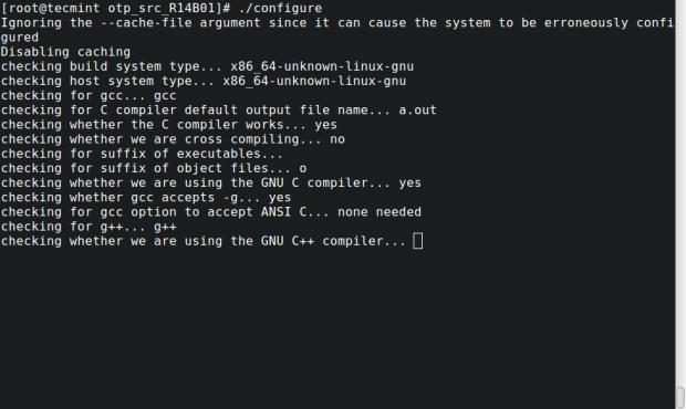 Configure Erlang