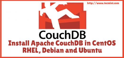 Install Apache CouchDB in CentOS