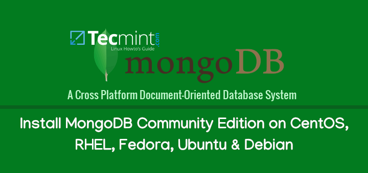 Install MongoDB Community Edition 4.0 on Linux