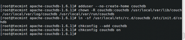 Create and Setup CouchDB on CentOS