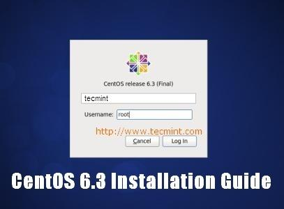 CentOS 6.3 Installation Guide