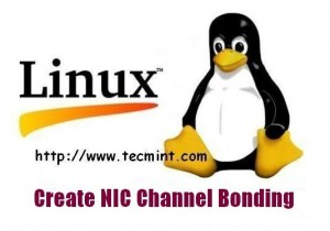 Create Channel Bonding in Linux
