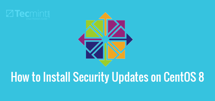 Install Security Updates on CentOS 8