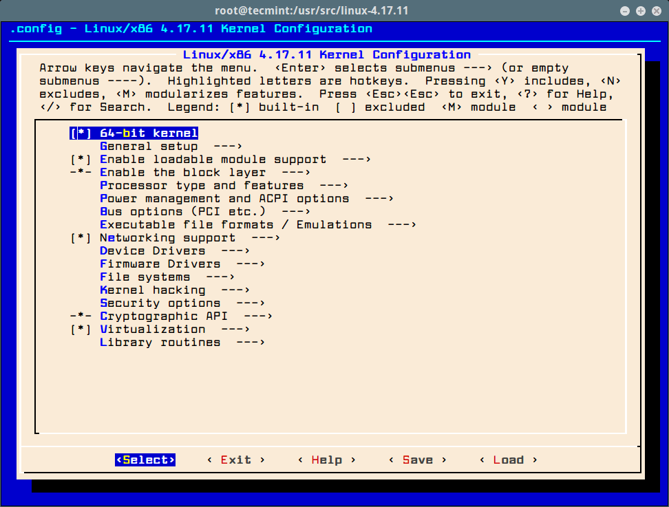 How to Compile Linux Kernel on CentOS 7