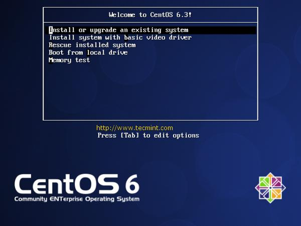 CentOS 6.3 Step by Step Installation Guide with Screenshots