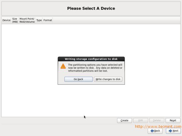 CentOS 6.3 Disk Changes