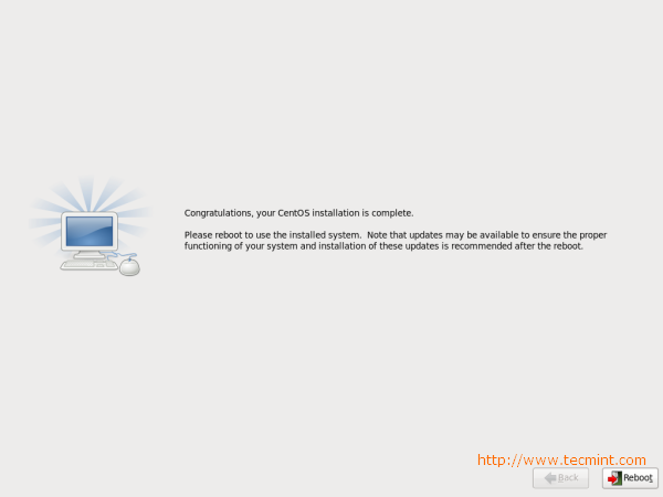 CentOS 6.3 Installation Completes