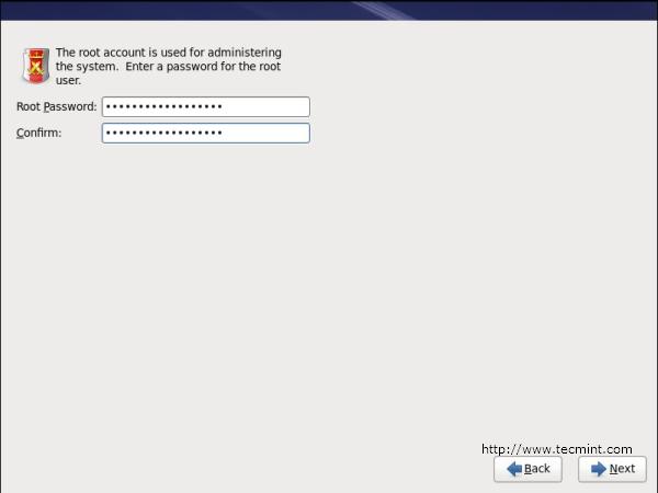 Set RHEL 6 root Password
