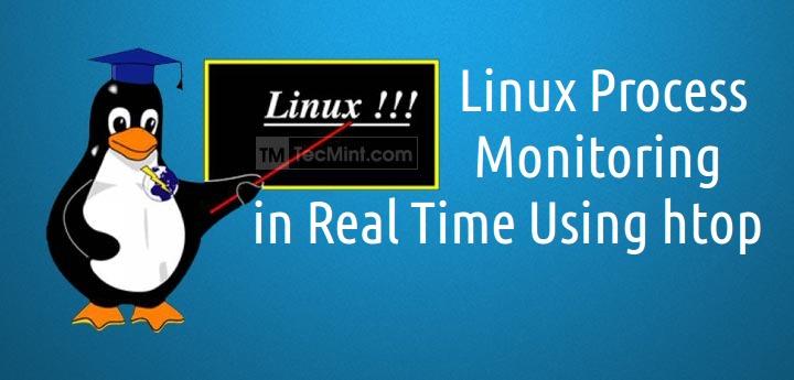 Htop-Linux-Monitoring