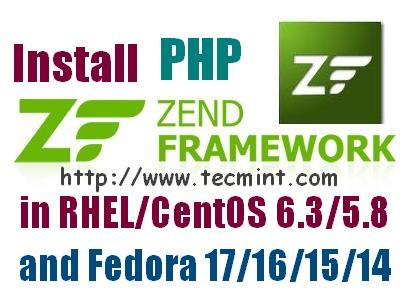 Zend Framework 1 11 12 for PHP 5 on RHEL/CentOS 6 3/5 9 and