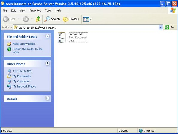 how to connect samba server from windows 10
