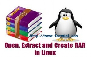 Install Unrar in Linux