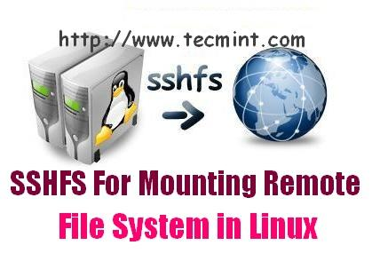Install SSHFS in Linux