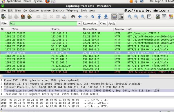 Wireshark - Filter by Protocol