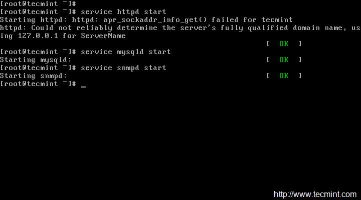 Start Services in CentOS 6