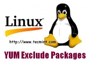 YUM Exclude Packages