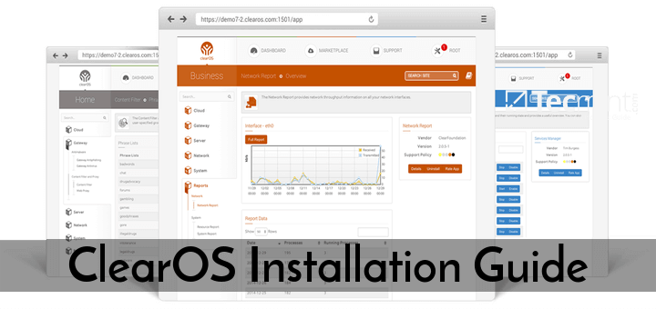 Installation Of Clearos 7 Community Edition