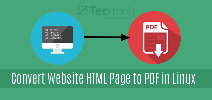 Convert Website HTML Page to PDF