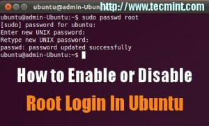 Enable Root Login in Ubuntu
