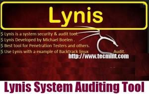 Install Lynis