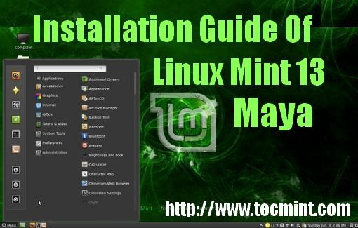Linux Mint 13 Installation Guide
