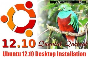 Ubuntu 12.10 Desktop Installation