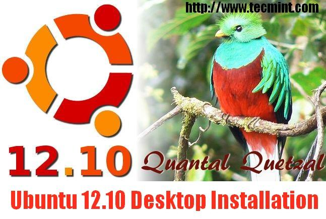 Ubuntu 12.10 Desktop Installation