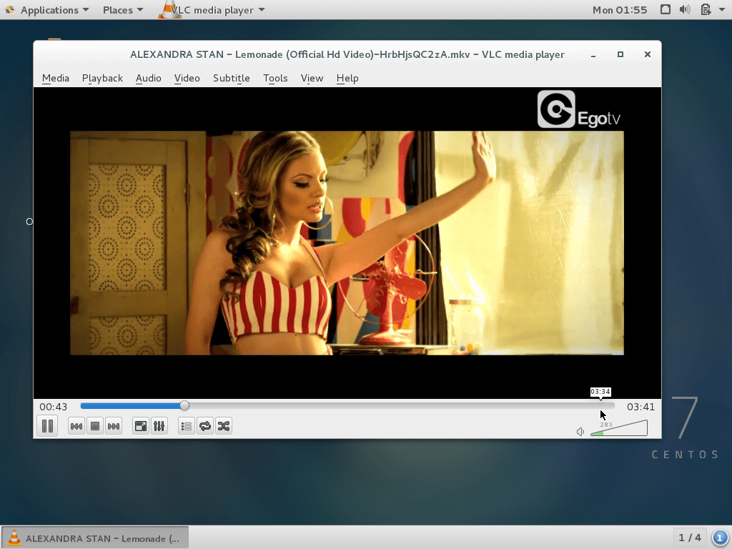 VLC Player in CentOS 7