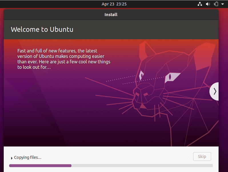 Ubuntu Base System Installation