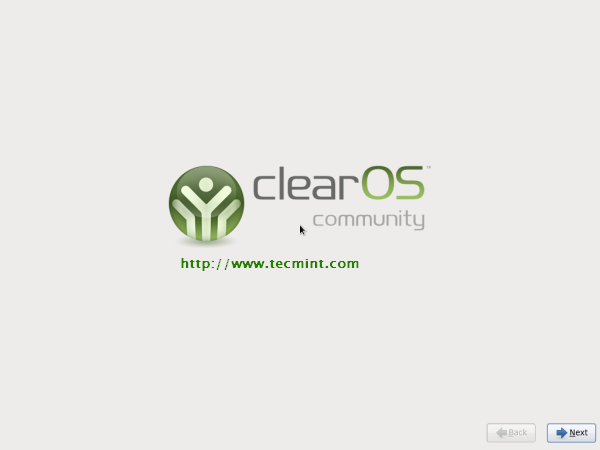 ClearOS 6.3 Welcome