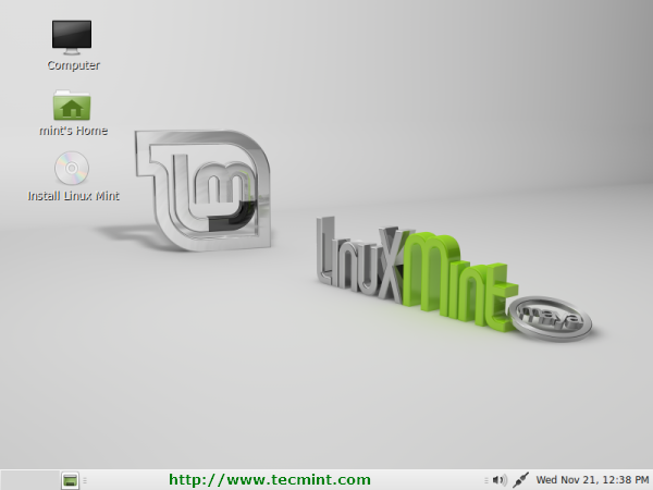 Install Linux Mint 13