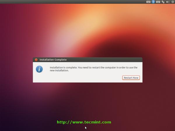 Booting Ubuntu 12.10