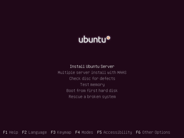 Install Ubuntu 12.10 Server