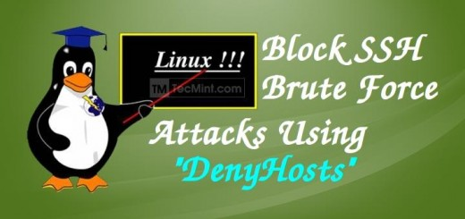 Block SSH Attacks in Linux