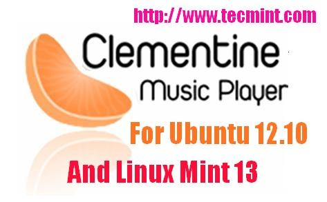 Install Clementine Music Player
