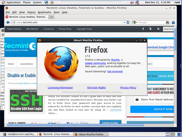 Windows 7 Firefox 17 17.0.1 full