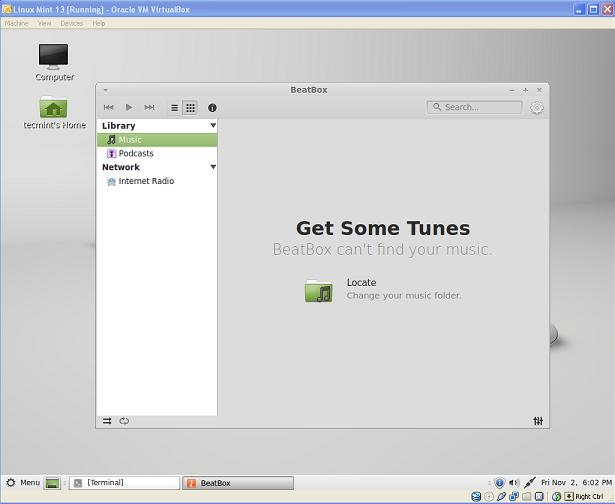 Install BeatBox Player in Linux Mint