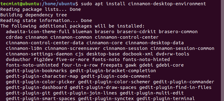 Install Cinnamon Desktop on Ubuntu