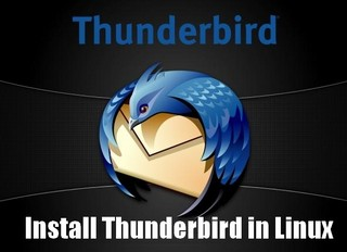Install Thunderbird