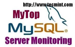 Mytop MySQL Monitoring