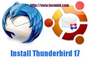 Install Thunderbird in Ubuntu