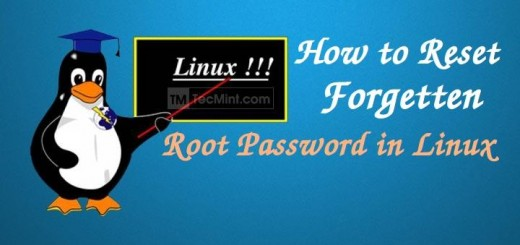How to Reset Root Password