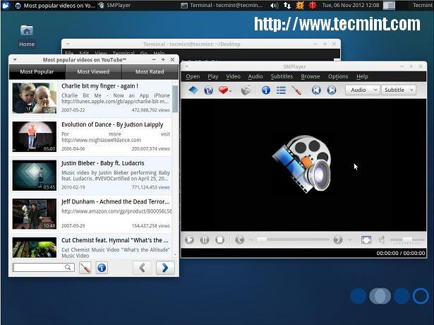 Install SMPlayer in Xubuntu