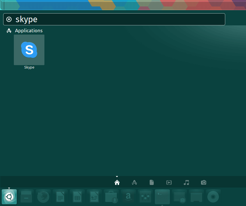 Start Skype in Ubuntu