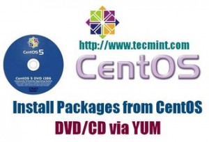 CentOS DVD Yum Install