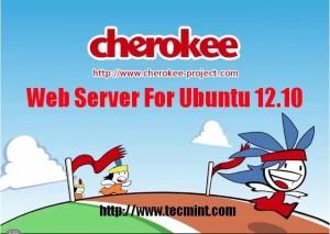 Install Cherokee Web Server in Ubuntu
