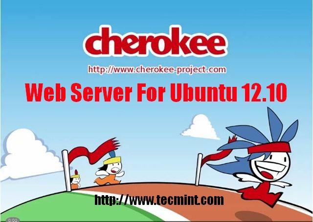 Install Cherokee Web Server in Ubuntu