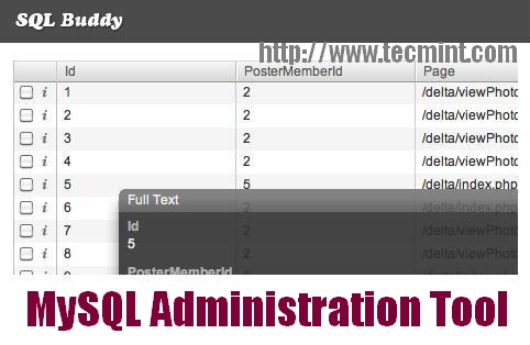 Install SQL Buddy in Linux